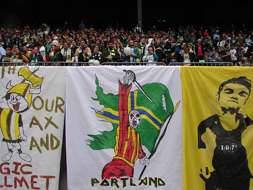 Soccer City indeed: The Timbers Army