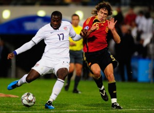 Jozy Altidore Against Spain at Confederations Cup